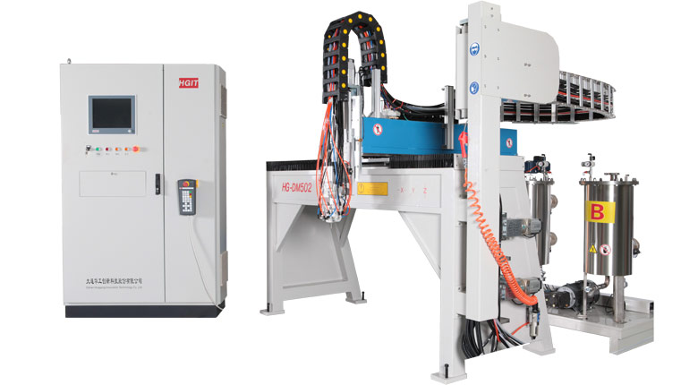 PU gasket sealing machine